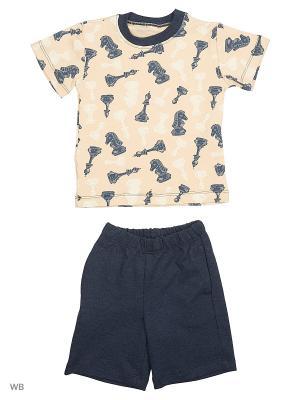 Пижамы Flip. Цвет: бежевый