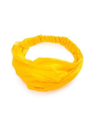 Повязка на голову DAVANA. Цвет: желтый