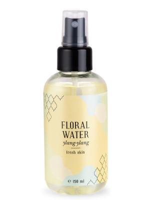 Флоральная вода иланг свежесть кожи 150 мл Huilargan. Цвет: желтый