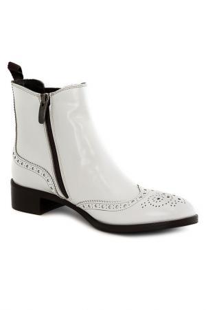 Ботинки Sutor Mantellassi. Цвет: белый