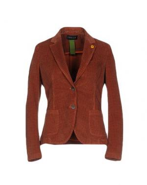 Пиджак IANUX. Цвет: ржаво-коричневый