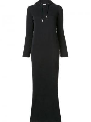 Платье Daria Wanda Nylon. Цвет: чёрный