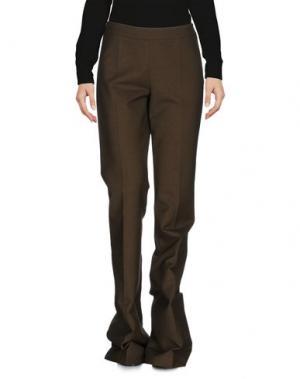 Повседневные брюки GIAMBA. Цвет: зеленый-милитари