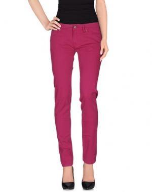 Повседневные брюки ROŸ ROGER'S. Цвет: пурпурный
