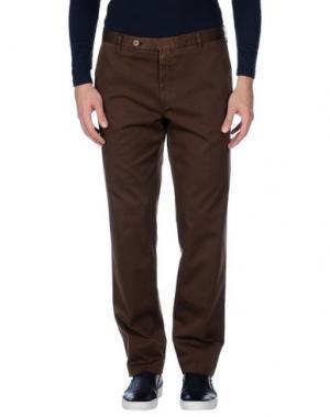 Повседневные брюки ROTASPORT. Цвет: темно-коричневый
