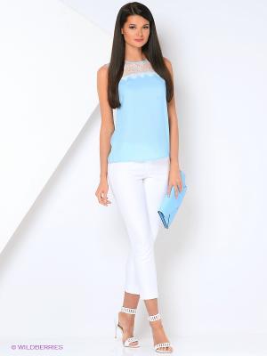 Блуза Ksenia Knyazeva. Цвет: голубой