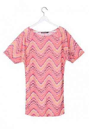 Платье Artwizard. Цвет: коралловый
