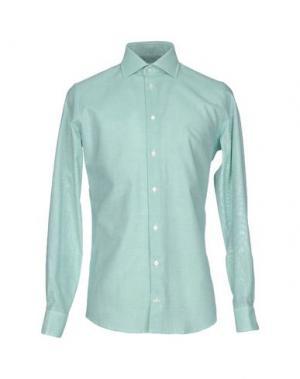 Pубашка RICHARD JAMES. Цвет: зеленый