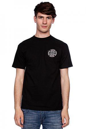 Футболка  Tc Speed Black Independent. Цвет: черный