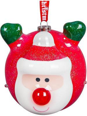 Шар папье-маше Mister Christmas. Цвет: красный