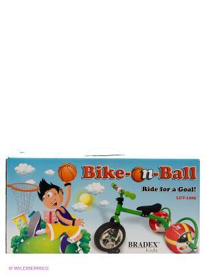 Велосипед с колесами в виде мячей БАСКЕТБАЙК BRADEX. Цвет: розовый