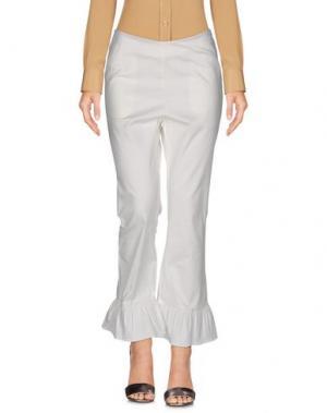 Повседневные брюки HIDDEN FOREST MARKET. Цвет: белый