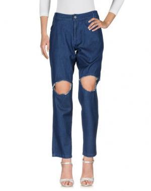 Джинсовые брюки TELFAR. Цвет: синий