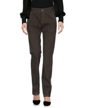 Повседневные брюки MURPHY & NYE. Цвет: зеленый-милитари
