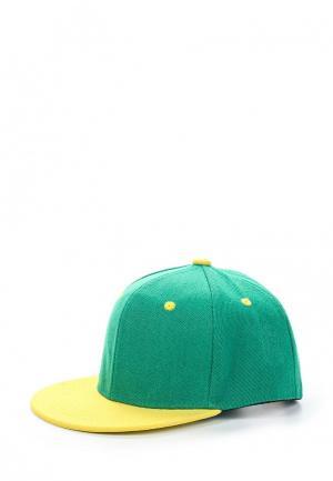 Бейсболка Modis. Цвет: зеленый