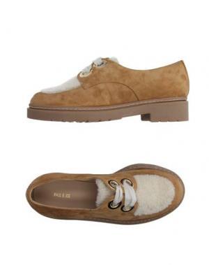 Обувь на шнурках PAUL & JOE. Цвет: бежевый