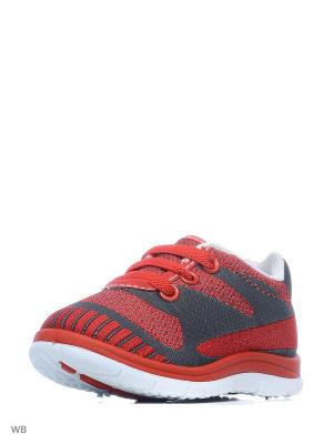 Ботинки PlayToday. Цвет: красный, белый, черный
