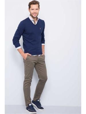 Пуловер U.S. Polo Assn.. Цвет: темно-синий