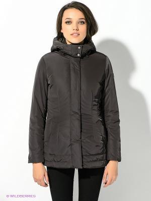Куртка GEOX. Цвет: темно-коричневый