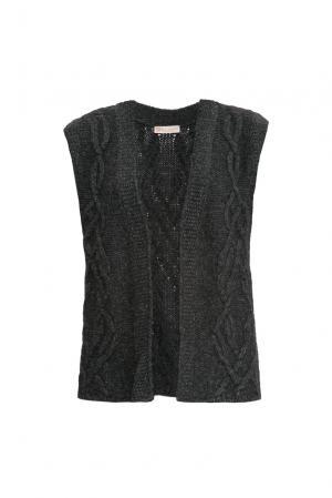 Жилет 154532 Sweet Sweaters. Цвет: черный