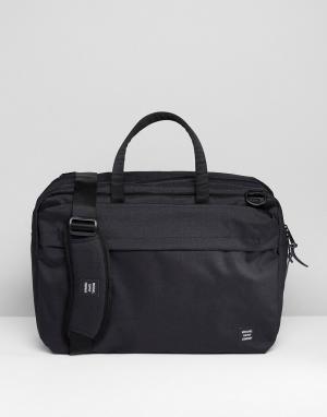 Herschel Supply Co Сумка для ноутбука Sandford. Цвет: черный