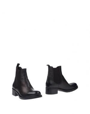 Полусапоги и высокие ботинки JFK. Цвет: темно-коричневый