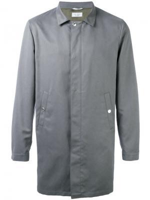 Однобортное пальто Brunello Cucinelli. Цвет: коричневый