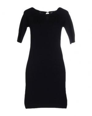 Короткое платье QCQC. Цвет: темно-синий