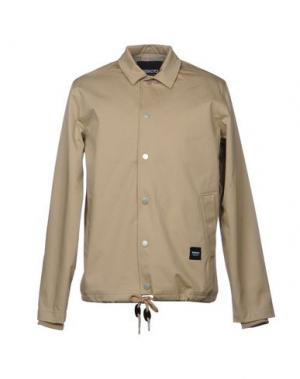 Куртка WEMOTO. Цвет: бежевый