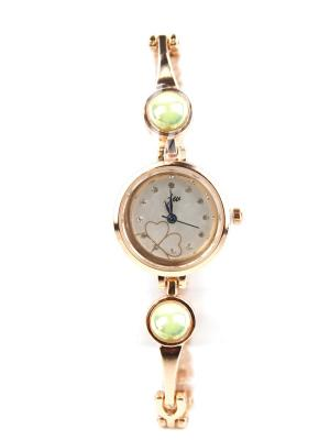 Часы наручные 1Azaliya. Цвет: зеленый, золотистый