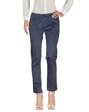 Повседневные брюки ROMANO RIDOLFI. Цвет: грифельно-синий