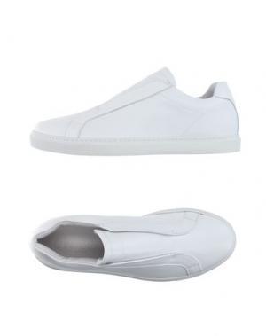 Низкие кеды и кроссовки DONDUP. Цвет: белый