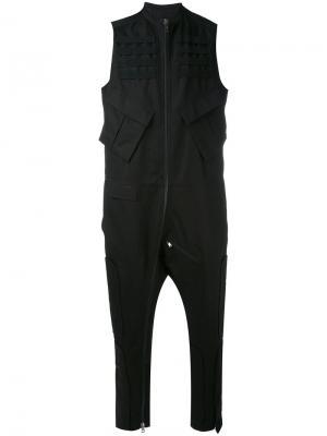 Спортивные брюки в стиле casual Tom Rebl. Цвет: чёрный