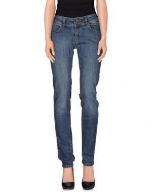 Джинсовые брюки PAUL FRANK. Цвет: синий