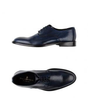 Обувь на шнурках BORGO MEDICEO. Цвет: темно-синий
