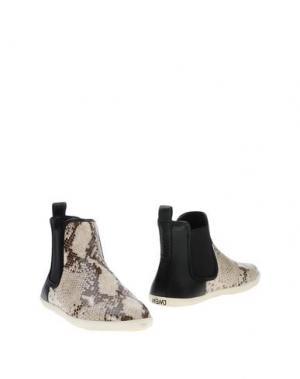 Полусапоги и высокие ботинки MARC BY JACOBS. Цвет: светло-серый