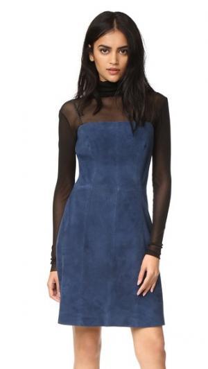 Платье Fresca VEDA. Цвет: голубой