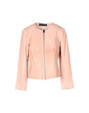 Куртка ENES. Цвет: пастельно-розовый
