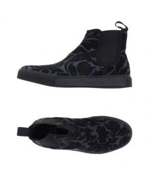 Высокие кеды и кроссовки HŌSIO. Цвет: черный