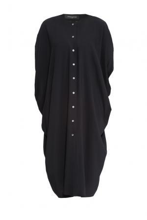 Платье из вискозы 159833 Cyrille Gassiline. Цвет: черный
