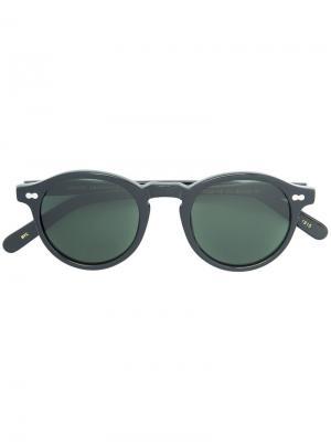 Round frame sunglasses Moscot. Цвет: чёрный