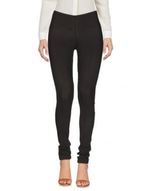 Повседневные брюки SUOLI. Цвет: темно-коричневый