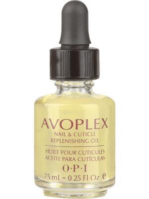 Opi Восстанавливающее масло для ногтей и кутикулы Avoplex Nail Cuticle Replenishing Oil, 7,5 мл. Цвет: светло-желтый