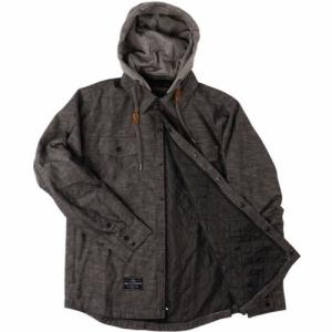 Insulated Flannel Saga. Цвет: black chambray