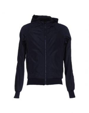 Куртка DAVID NAMAN. Цвет: темно-синий