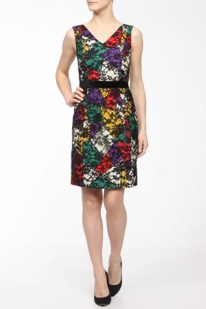 Платье BGN. Цвет: black, red