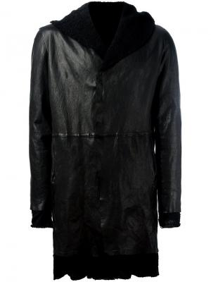 Многослойное пальто Salvatore Santoro. Цвет: чёрный