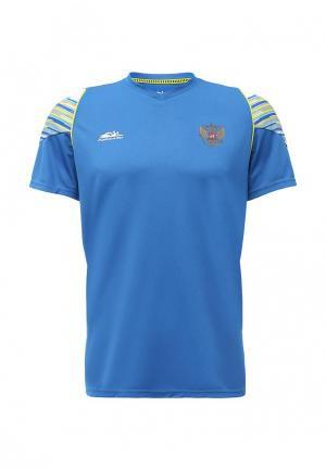 Футболка спортивная Forward. Цвет: синий