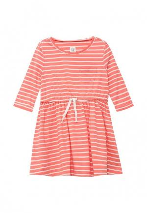 Платье Gap. Цвет: оранжевый