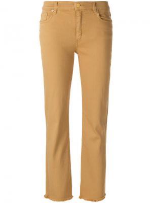 Прямые джинсы Etro. Цвет: телесный